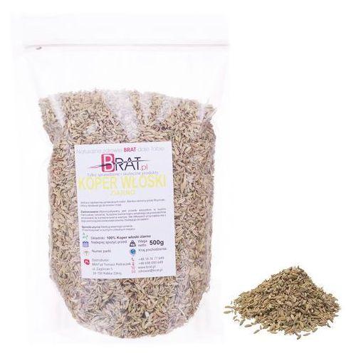 Koper Włoski ziarno 500g – nasiona wysoka jakość – BRAT.PL