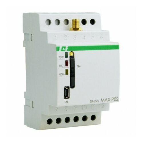 F&f Przekaźnik sterowania gsm simply max p02 (5908312597223)