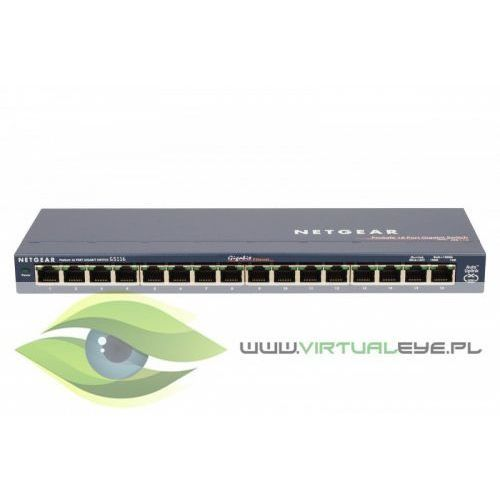 Switch Unmanaged Plus 16xGE - GS116GE