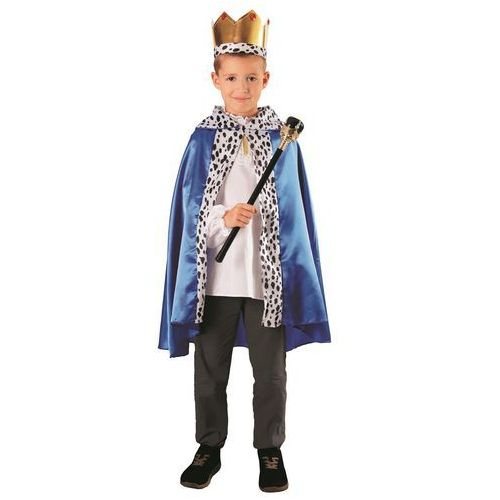 Gam Zestaw król zielony: peleryna, korona, berło