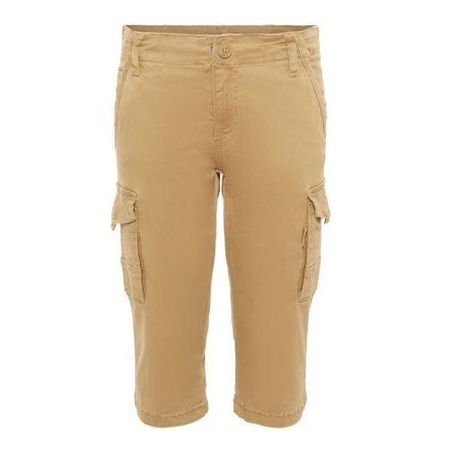 Name it spodnie 'ryan' jasnobrązowy / oliwkowy (5713746463644)