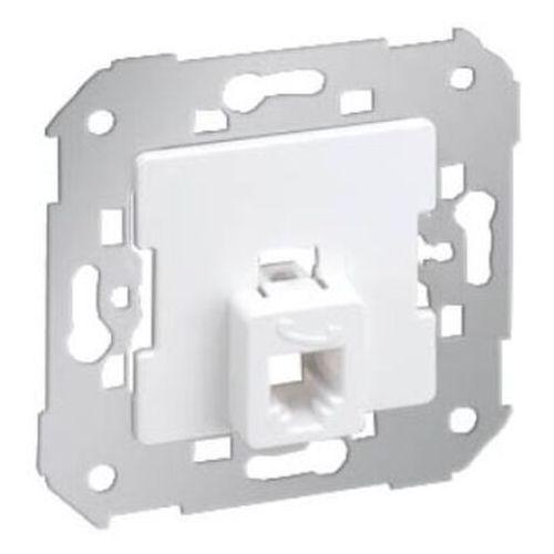 Gniazdo telefoniczne pojedyncze rj11 białe kontakt simon akord - marki Kontakt-simon