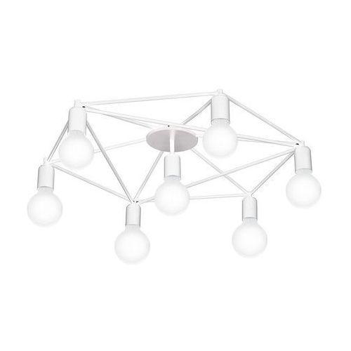 Eglo 97896 - Żyrandol natynkowy STAITI 7xE27/60W/230V biały (9002759978969)