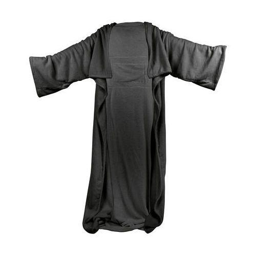 Insportline Podgrzewany koc szlafrok z rękawami wearm, czarny (8596084046819)