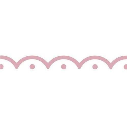 Dziurkacz brzegowy ozdobny 4 cm - falbanka - FLB