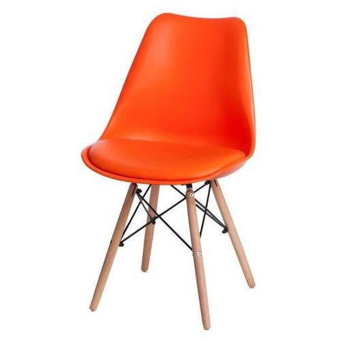 Krzesło Norden DSW PP pomarańcz. 1614 - pomarańczowy (5902385729437)