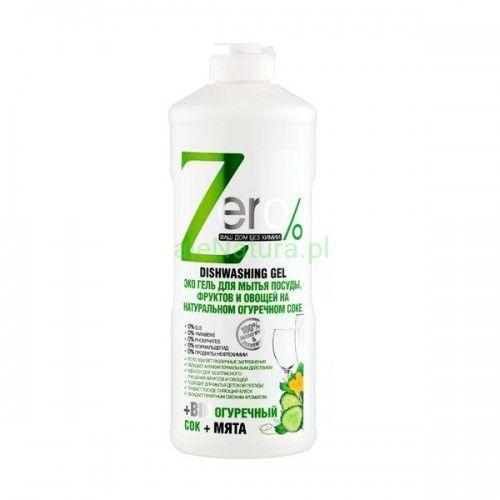 Zero Żel do mycia naczyń na bazie naturalnego octu jabłkowego 500ml