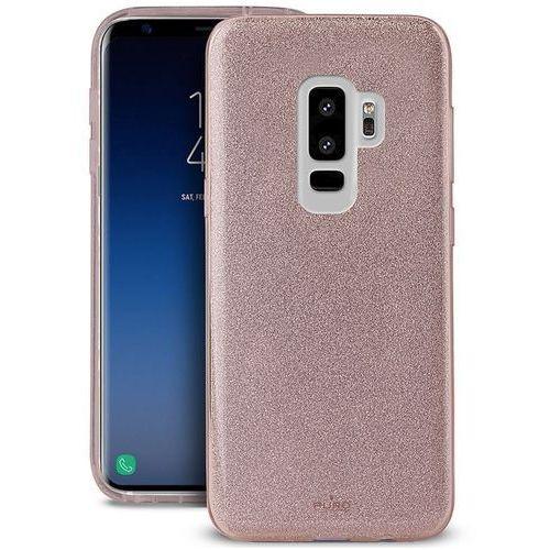 PURO Glitter Shine Cover - Etui Samsung Galaxy S9+ (Rose Gold), SGS9SHINERGOLD