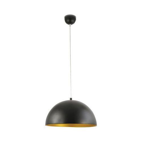 dingle lampa wisząca czarny, złoty, 1-punktowy - nowoczesny - obszar wewnętrzny - dingle - czas dostawy: od 8-12 dni roboczych marki Fabas luce
