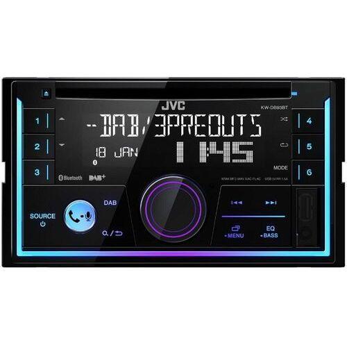 Jvc Radio samochodowe kw-db93bt + zamów z dostawą przed świętami! + zamów z dostawą jutro!