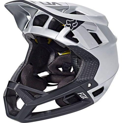 proframe moth kask rowerowy czarny/srebrny xl|61-64-cm 2018 kaski rowerowe marki Fox