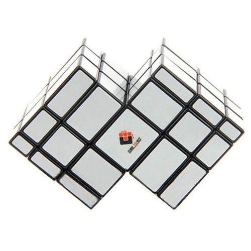 Cube Twist Mirror Twins Silver