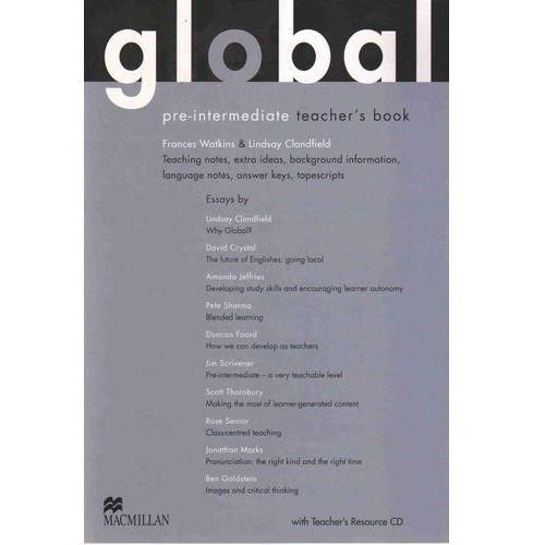 Global Pre-Intermediate Książka Nauczyciela + Płyta Resource CD, oprawa miękka
