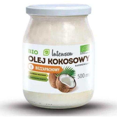 Bio olej kokosowy rafinowany 500ml marki Intenson europe sp. z o.o.