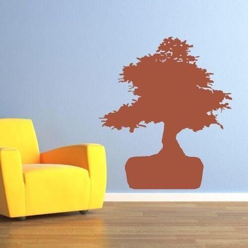 Wally - piękno dekoracji Naklejka drzewko bonsai 1674