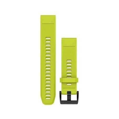 Garmin Pasek do zegarka sportowego approach s60/fenix 5/forerunner 935/quatix 5/quatix 5 sapphire żółty 010-12496-02 (0753759176815)