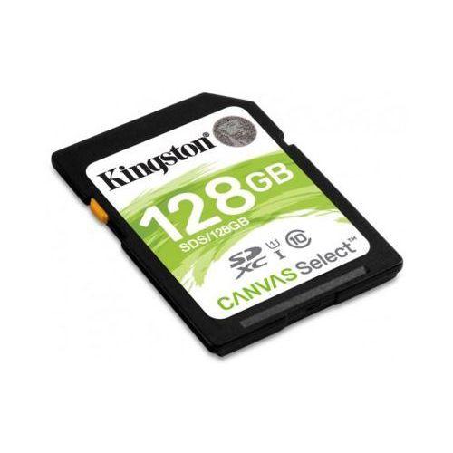 Kingston Karta pamięci canvas select sdxc 128gb (0740617275438)
