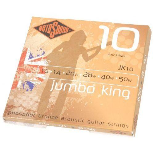 Rotosound JK-10 Jumbo King struny do gitary akustycznej 10-50