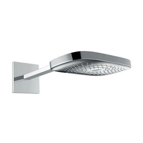 Hansgrohe głowica prysznicowa E 300 3jet z ramieniem prysznicowym 390 mm, DN15 Raindance Select 26468000 - produkt z kategorii- Deszczownice