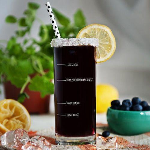 Twój przepis - Grawerowana Szklanka do drinków - Szklanka