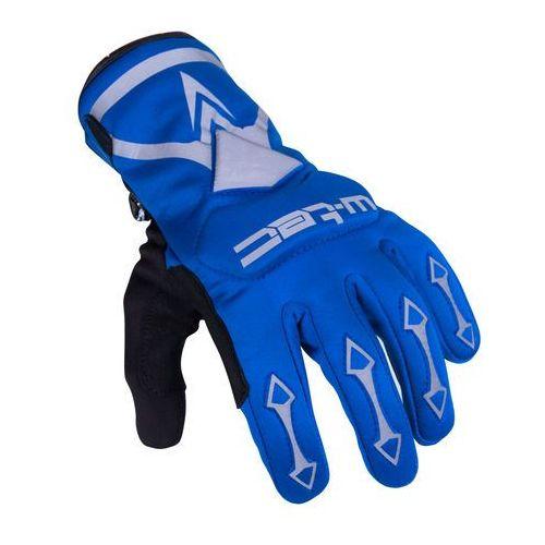 Rękawice rowerowe i motocyklowe belter b-6044, niebieski, m marki W-tec