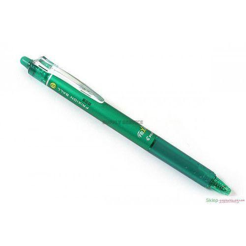 Pilot Długopis żelowy  frixion ball clicker zielony medium