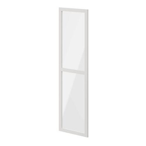 Drzwi do korpusu 50 x 187,5 cm atomia biały/szkło transparentne marki Goodhome