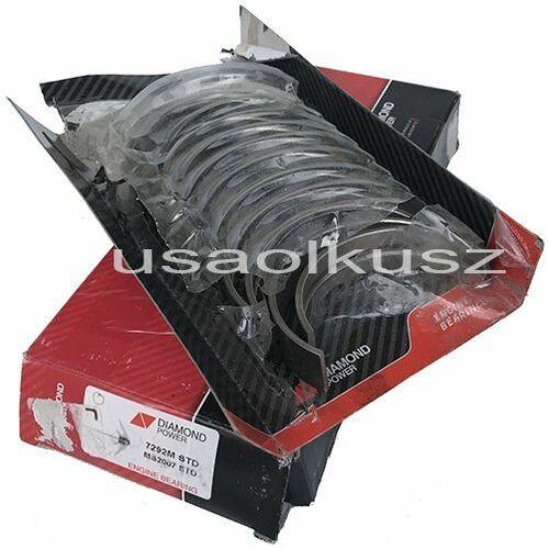 Diamond power Panewki główne wału korbowego silnika std blok żeliwny mercury mountaineer 4,6 v8
