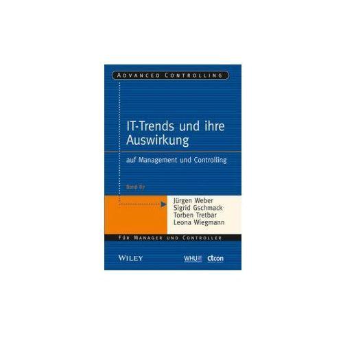 IT-trends und Ihre Auswirkung auf Management und Controlling (9783527507443)