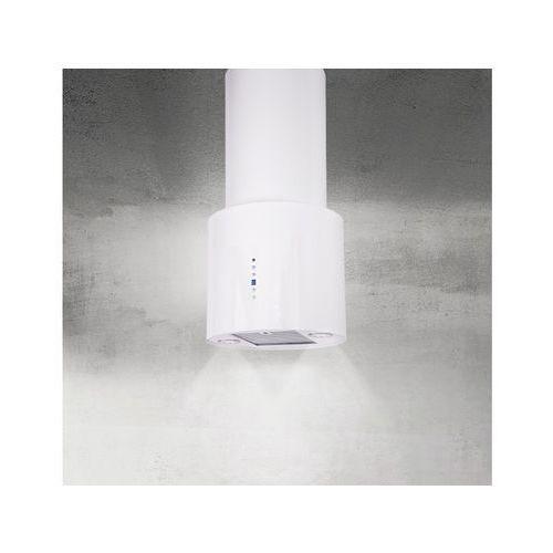 Okap wyspowy Arco Biały 40 cm, 635 m3/h