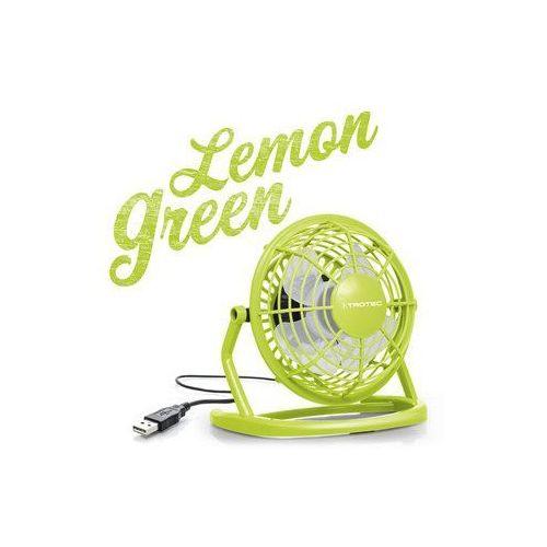 Wentylator usb lemon green tve 1l marki Trotec