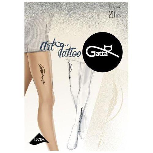 Rajstopy art tattoo 04 marki Gatta