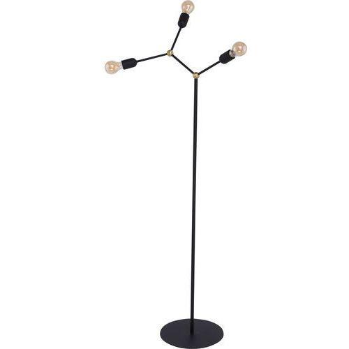 Lampa stojąca podłogowa edison TK Lighting Fantasy 3x60W E27 czarna 3081, 3081