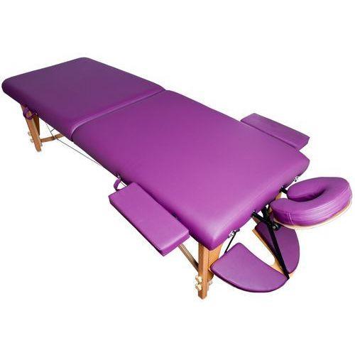 Activ Stół składany do masażu komfort wood at 006s-3 purple