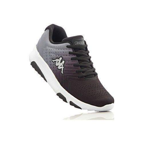 Sneakersy Kappa bonprix czarno-szary