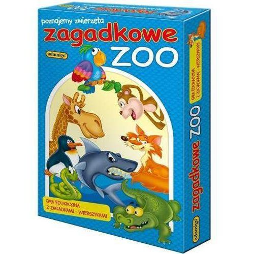 Adamigo Gra układanka zagadkowe zoo