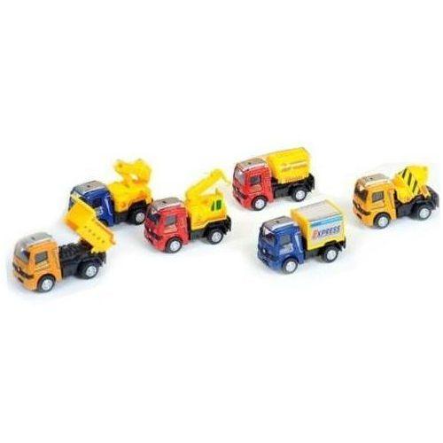 Auto ciężarowe plastikowe. 324131 - MEGA CREATIVE (5901350297919)