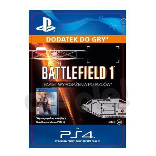 Sony Battlefield 1 - pakiet wyposażenia pojazdów [kod aktywacyjny] (0000006200225)