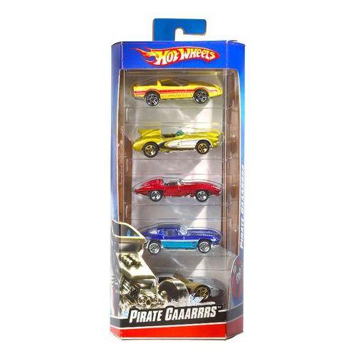 Hot Wheels Pięciopak aut World racers 01806
