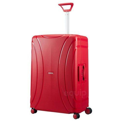 American tourister Walizka duża lock'n'roll + gratis poduszka podróżna - formula red (5414847730207)