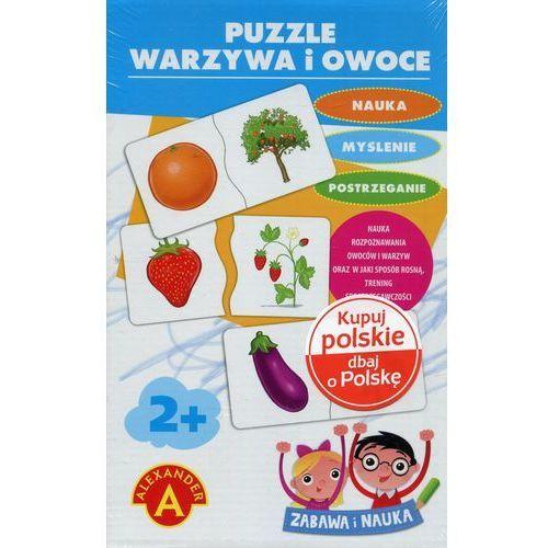 Puzzle Warzywa i owoce