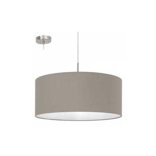 Lampa wisząca Eglo Pasteri 31576 z abażurem 1x60W E27 fi53 (9002759315764)