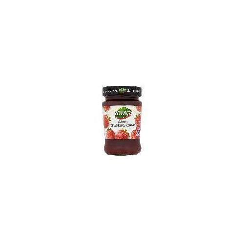 Łowicz Dżem truskawkowy niskosłodzony 280 g (konfitura)