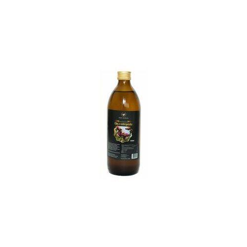 Olej z ostropestu zimnotłoczony 500ml marki Trzy ziarna
