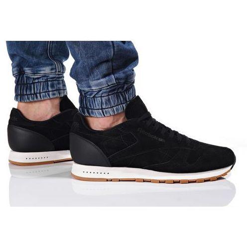 Sneakersy reebok Classic Leather SG (BS7892) - Czarny, kolor czarny