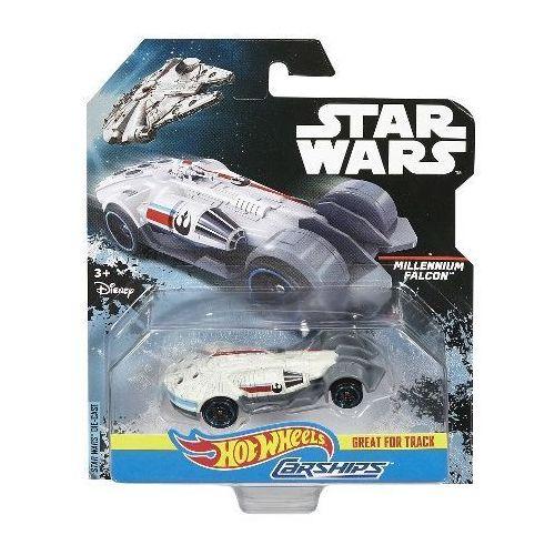 Hot wheels Autostatki kosmiczne  star wars millennium falcon