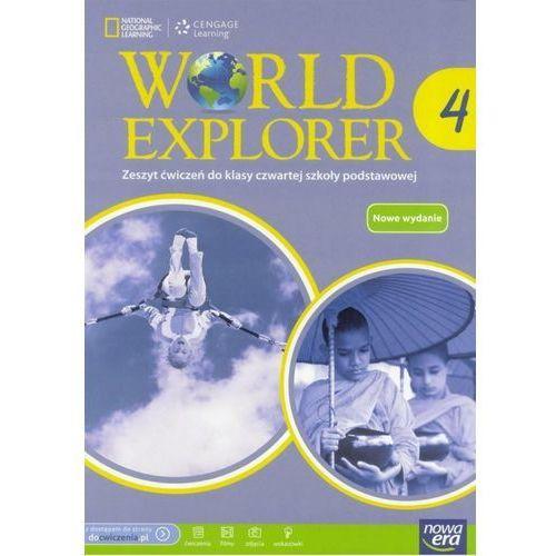 World Explorer. Klasa 4. Szkoła podst. Język angielski. Ćwiczenia + zakładka do książki GRATIS, Nowa Era