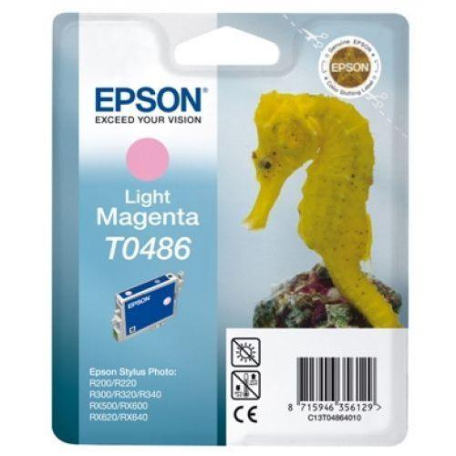 Oryginalny atrament [t0486] light magenta marki Epson