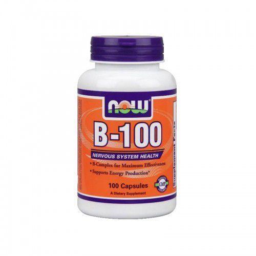Kapsułki Witaminy B-100 B100 - 100 kapsułek