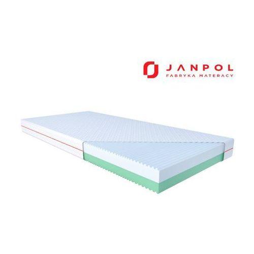 Janpol palma – materac piankowy, rozmiar - 140x200, pokrowiec - silver protect wyprzedaż, wysyłka gratis